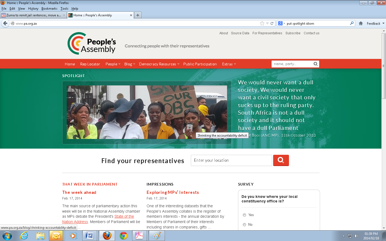 PA website PMG