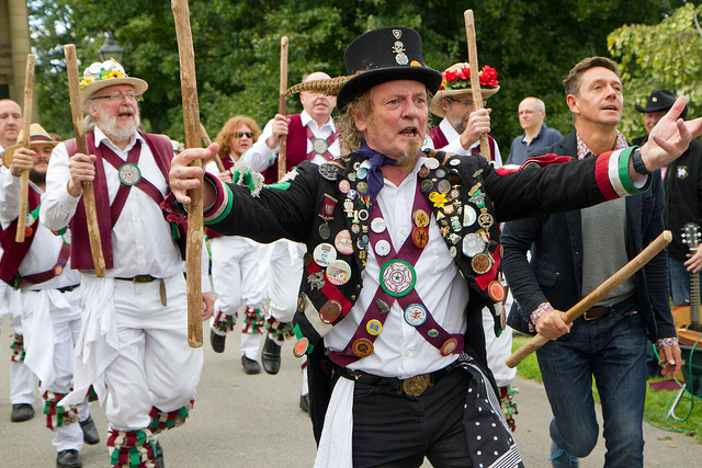 Morris dancers. Credit: Jon Pinder, Flickr