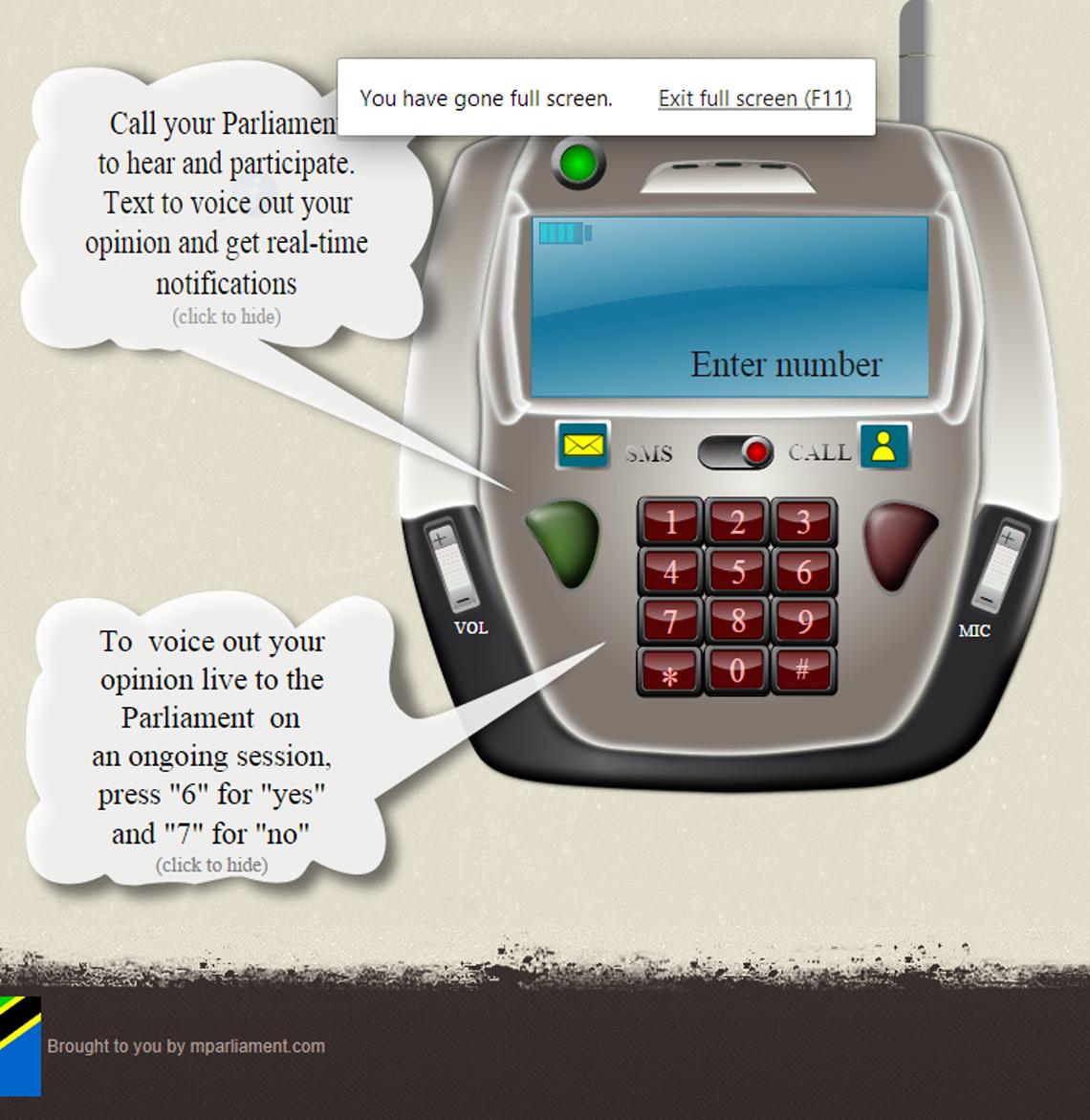 Magilatech mobile parliament