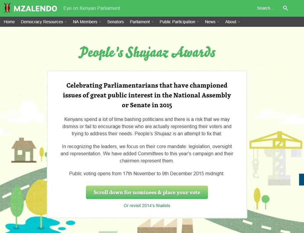 Shujaaz awards