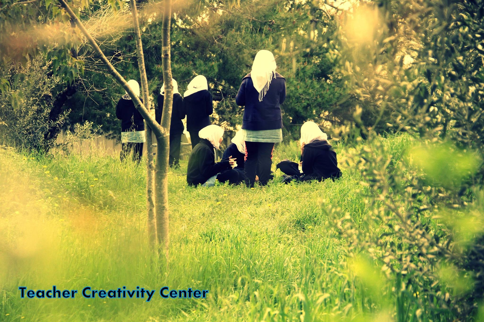 Student Monitors in Palestine